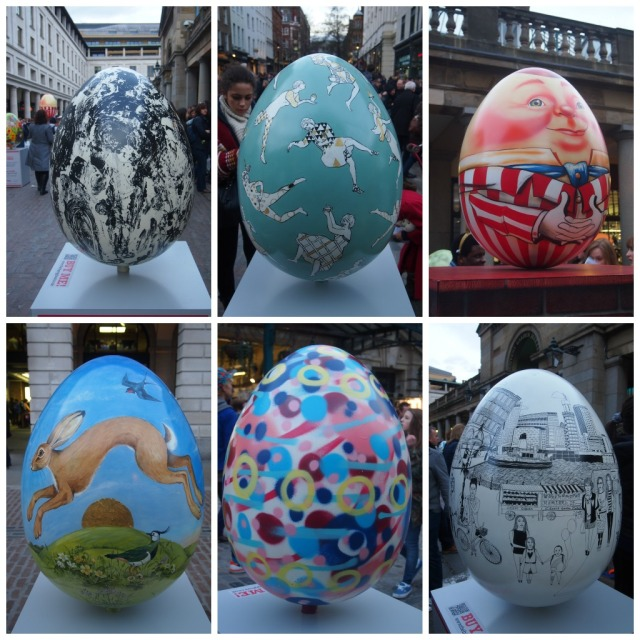 Easter egg collag1