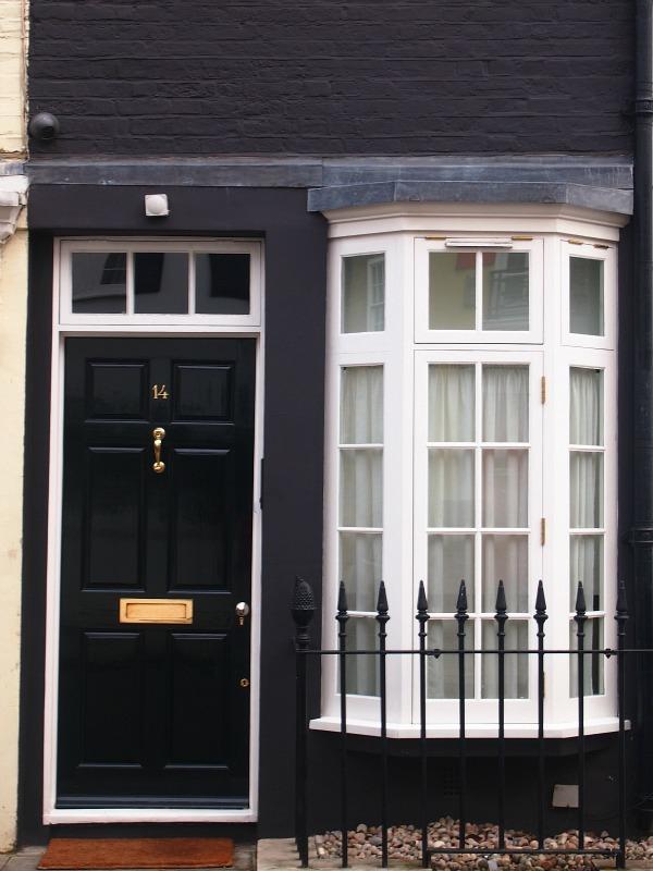 A very narrow house