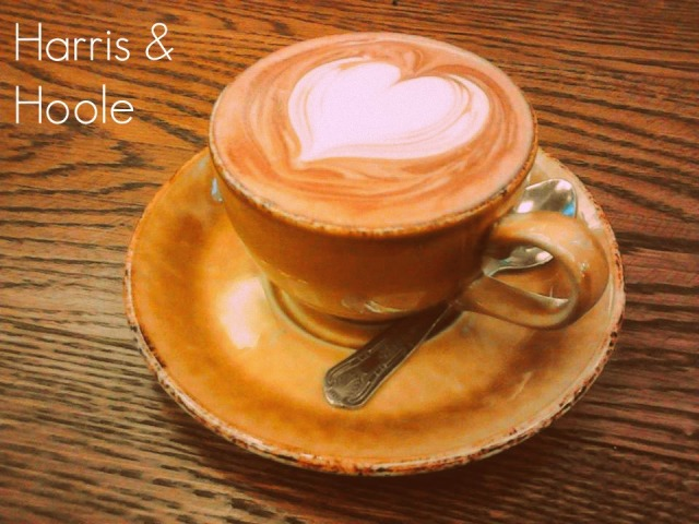Hot choc at Harris and Hoole2